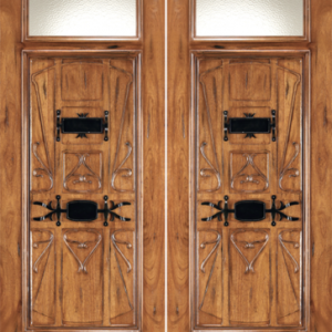 Mahogany Front Entry Doors