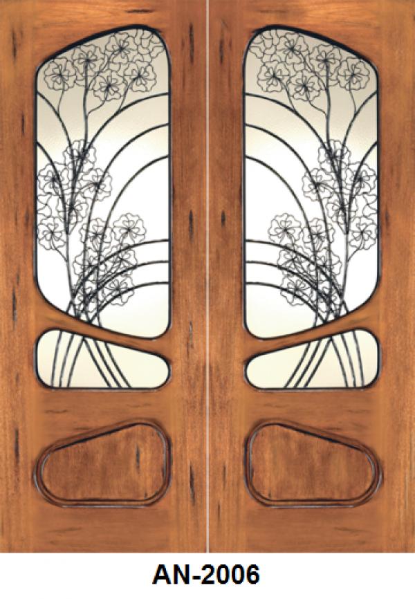 Front Entry Mahogany Door