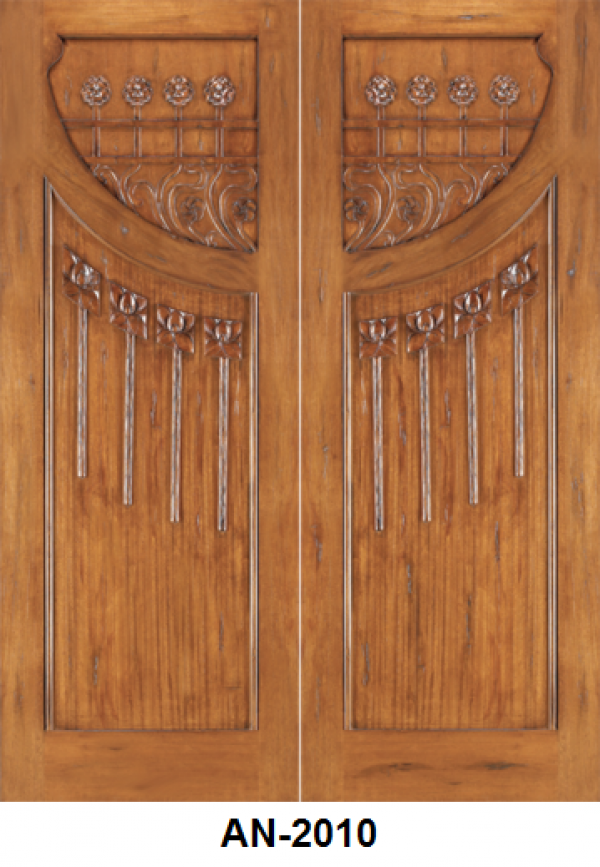 Solid Mahogany Entrance Door