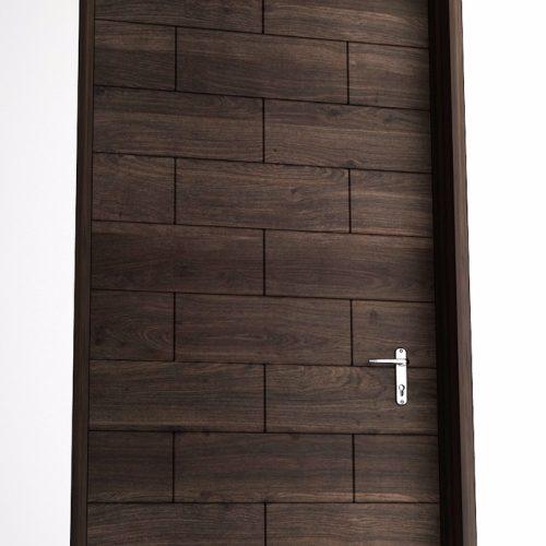 solid-wood-single-door-squar-brick-design